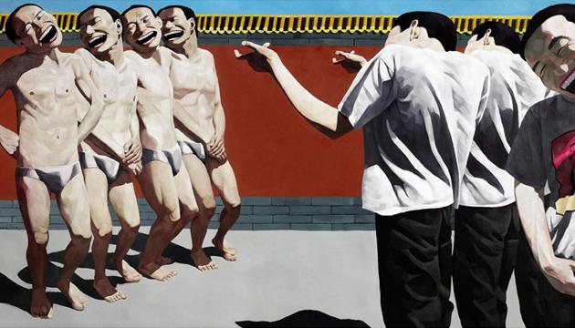 Yue Minjun, pinturas 2