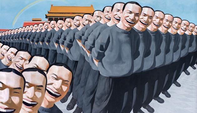 Yue Minjun, pinturas 3