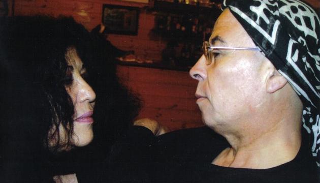 Carmen Berenguer y Pedro Lemebel