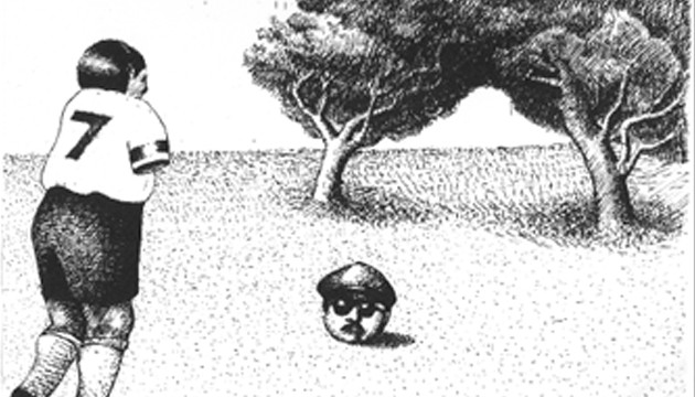 Deatraspicaelindio, portada de German Areztizabal