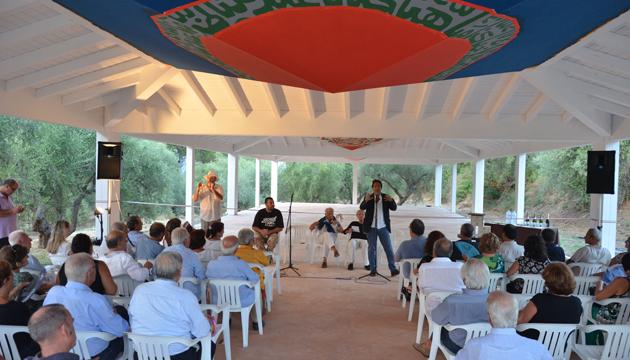 Lorenzo Zichichi inaugura el Salón de las Pirámides
