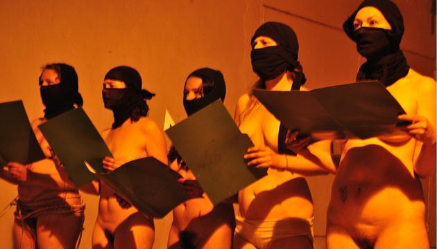Abecederario, stage de teatro performance, Nicole Mersey (Chile-Francia), Perrera Arte 2012