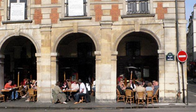 Café Hugo, Place des Vosges, París