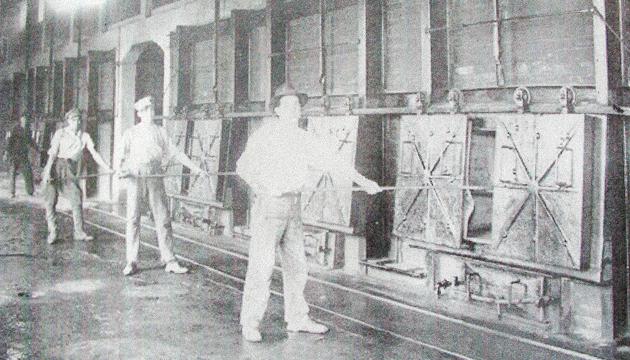 Los hornos del crematorio estaban ubicados en la planta baja del edificio