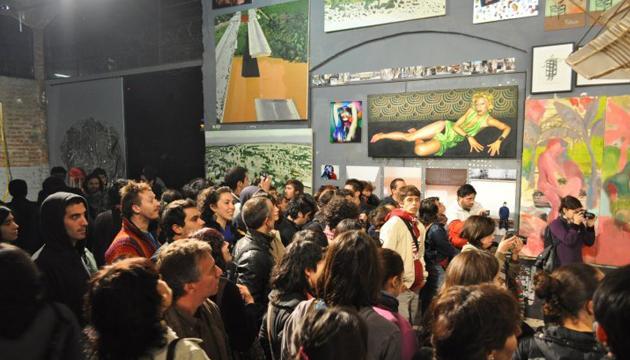 No nos conoce nadie, exposición colectiva, Acción Sudaca, Perrera Arte 2010