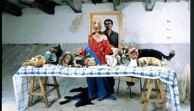 Puestas en escena, fotografías con taxidermia, 1997