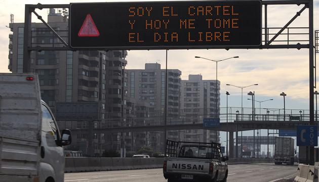 Autopista soy, Grupo Grifo, 2008, toma 1