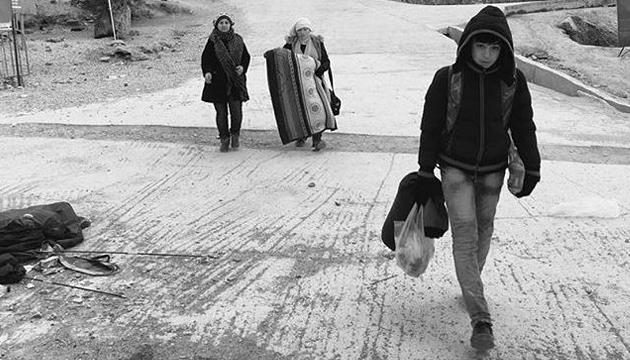 Refugiados en Lesbos, Ai Weiwei, toma 2