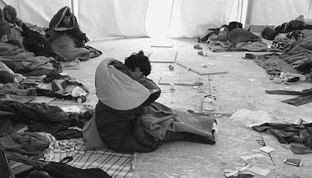 Refugiados en Lesbos, Ai Weiwei, toma 3