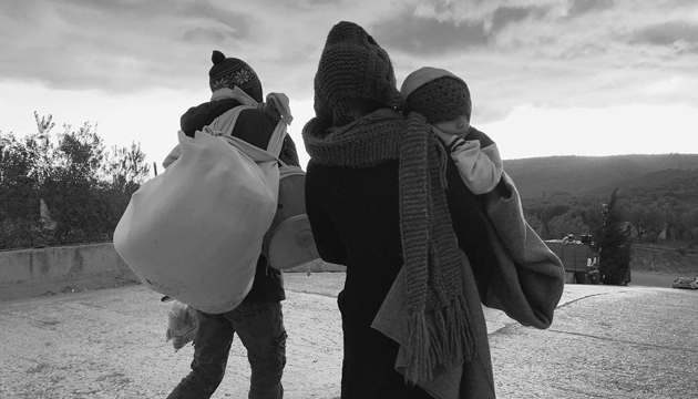 Refugiados en Lesbos, Ai Weiwei, toma 4