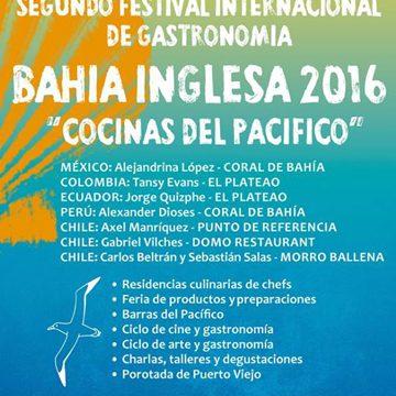 Segundo Festival Internacional Cocinas del Pacífico