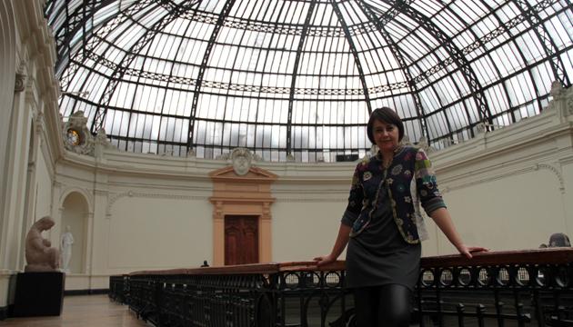 Gloria Cortés, curadora del Museo Nacional de Bellas Artes
