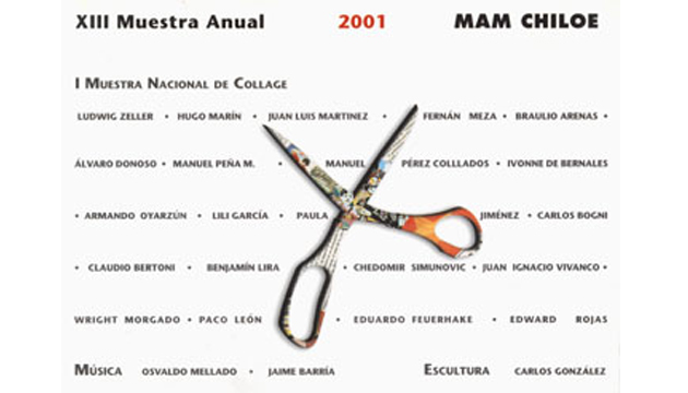Primera Muestra Nacional de Collage, MAM, 2001