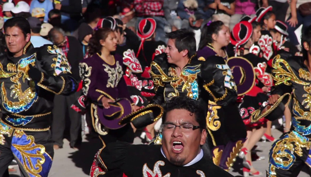 Carnaval de Ayquina, Segunda Región, Chile, toma 4