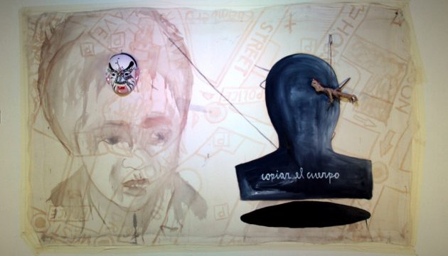 Copiar el cuerpo, Juan Castillo, 2016