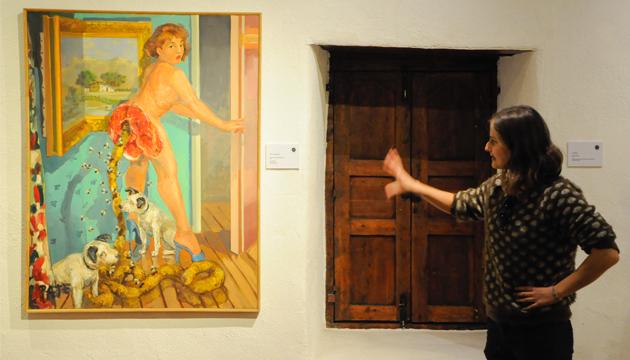 Javiera Anabalón aborda la obra del pintor Mario Ibarra, Paté