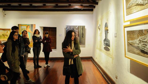 Paola Vásquez habló sobre sus fósiles encontrados y el grabado