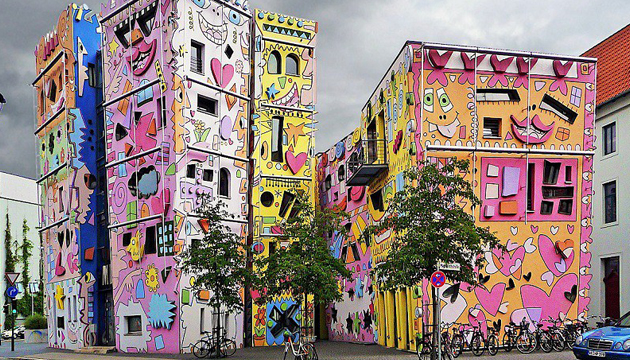 Happy Rizzi House, James Rizzi,  Braunschweig, Alemania