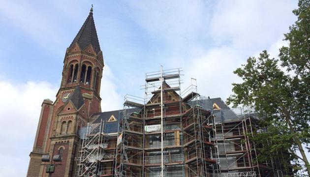 Iglesia de Kreuzeskirche, Essen, Alemania