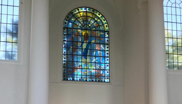 Interior del templo de Kreuzeskirche, Essen