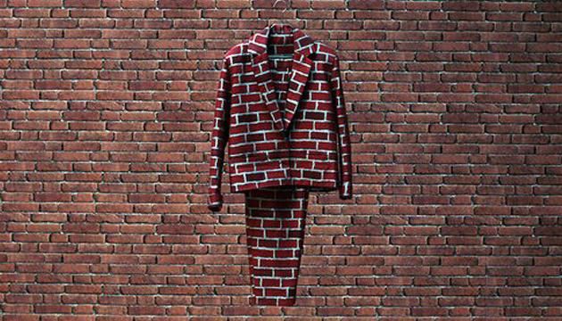 El elegante traje de camuflaje de Hamilton