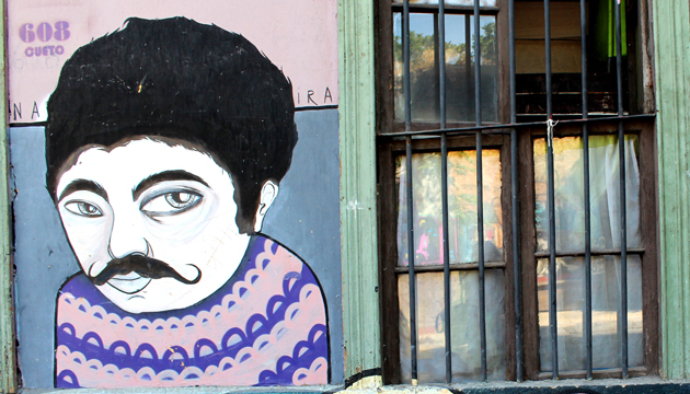 Mauricio Redolés tiene hasta su propio mural en la calle Cueto