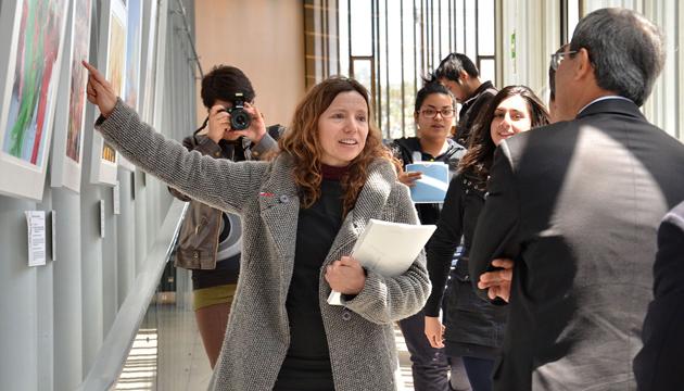 Isidora Moulian dirige la Corporación de Cultura y Patrimonio de Independencia
