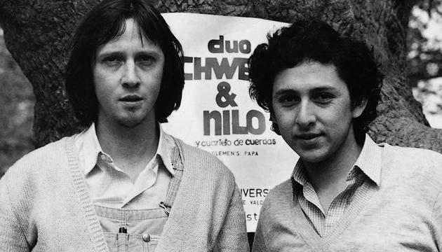 Schwenke y Nilo se conocieron en la Universidad Austral de Valdivia