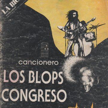 Los Blops y Congreso en La Bicicleta