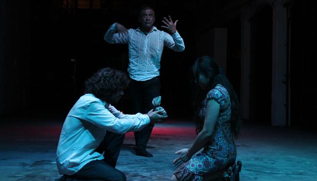 Fausto, el oráculo, Perrera Arte, toma 2