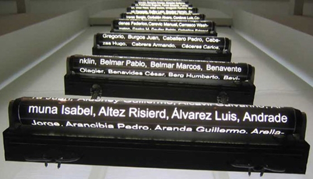 Criminal Ladder, Iván Navarro, 2005