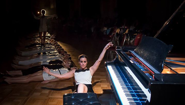 María José Riquelme en la Sala Arrau del Teatro Municipal