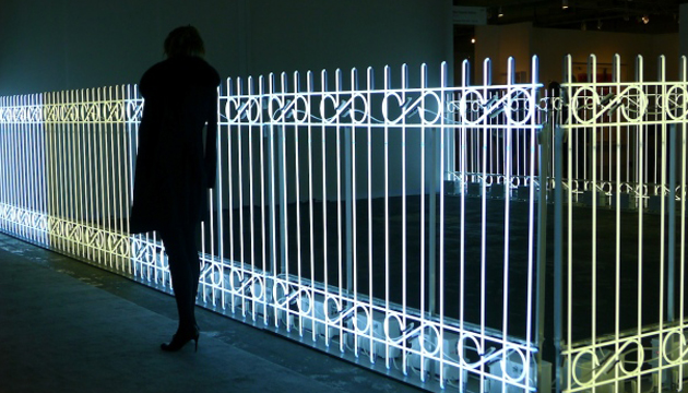 The Armory Fence, Iván Navarro, 2011