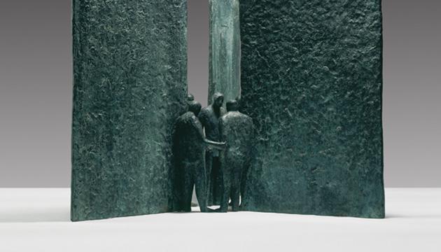 Dueños de las puertas, Mario Irarrázabal, 1972