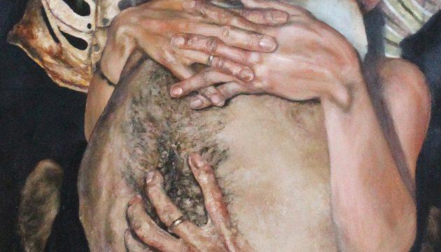 Pintura XII (detalle), Héctor León, 2015