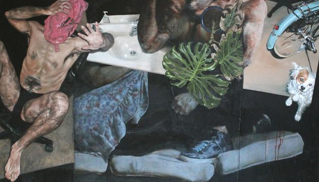 Pintura VII, Héctor León, 2014