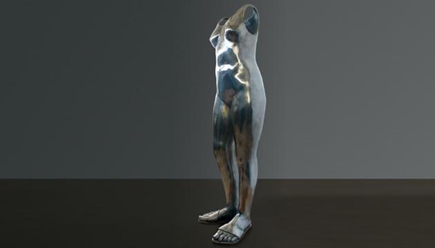 Vestido de mujer, Mario Irarrázabal, 2000
