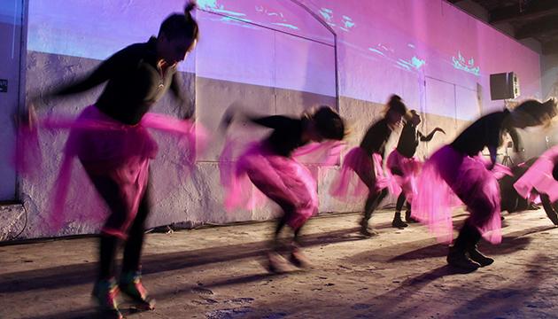 """La Compañía de Danza I.D.E.a adelantó parte de su nueva obra, """"Tul"""""""