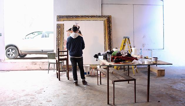 Caiozzama comienza a trabajar en su obra en la Perrera