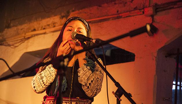 Gabriela Miscencio trajo el sonido del trompe