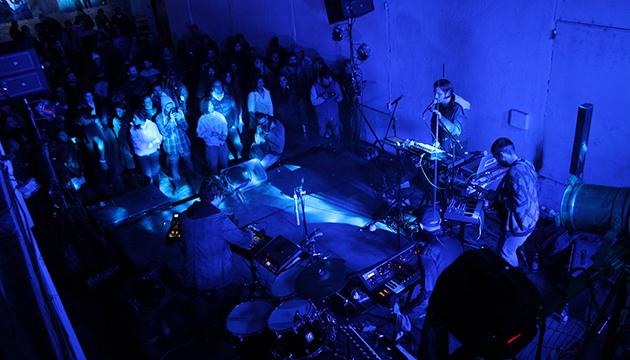 País Violento mostró su sonido electrónico en L'Arts