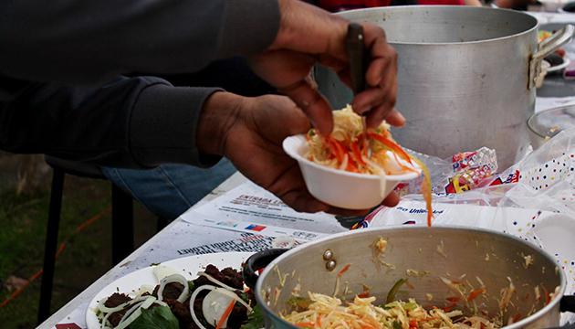 La gastronomía haitiana es muy variada, asegura Nedje