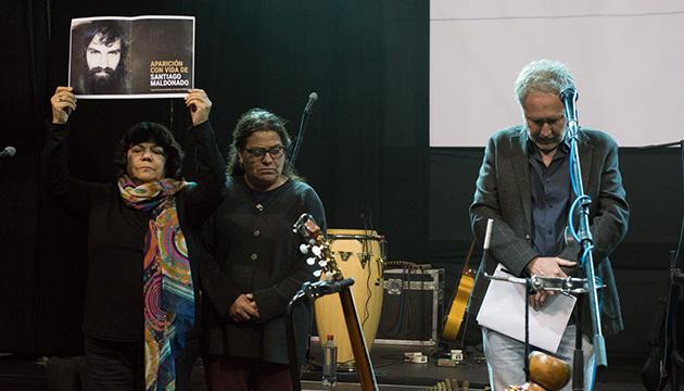 Agrupaciones de derechos humanos recordaron a Santiago Maldonado