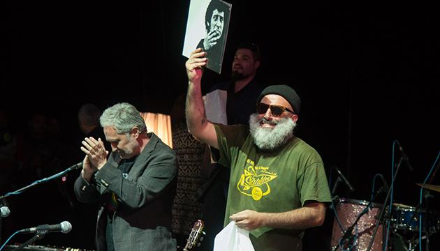 Aldo Macha Asenjo y su Bloque Depresivo homenajearon a Víctor