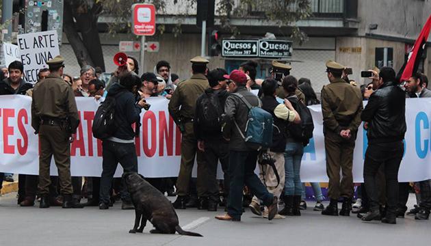 La marcha empieza a tomar forma en el barrio Lastarria
