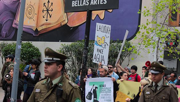Víctor Jara fue la figura convocante en las calles de Santiago