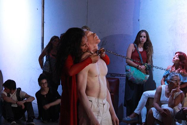 Aullidos, Nicolás Sandoval y Claudia Sanhueza