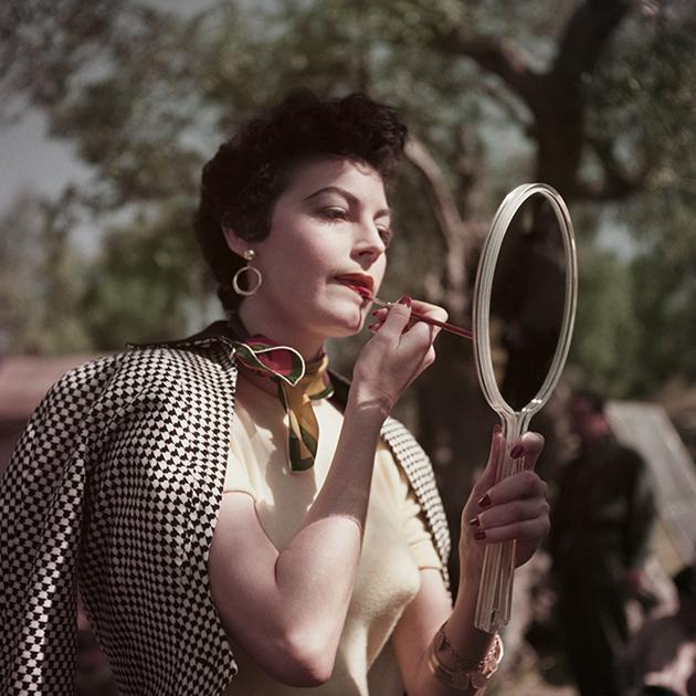 Ava Gardner / Robert Capa / Italia / 1954