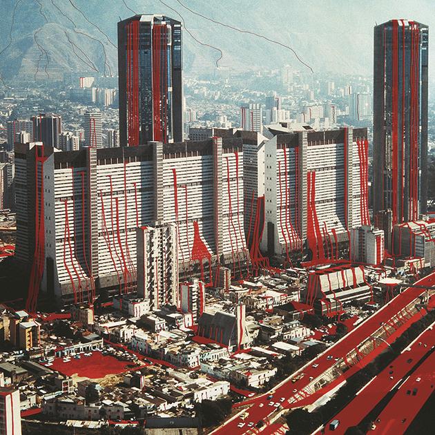 Caracas sangrante (detalle) / 1993