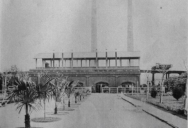 Horno crematorio de basura inaugurado en 1927